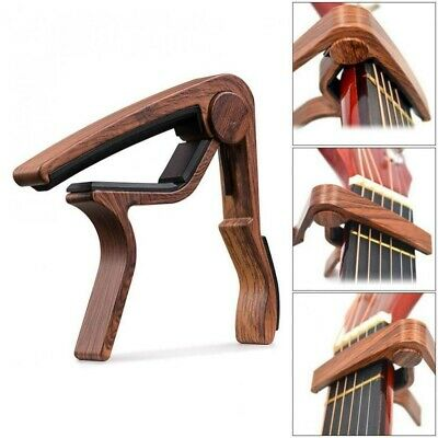 $ CDN9.69 • Buy Guitar Capo Quick Change 6-String Acoustic Classic Guitar Tool Trigger Key Clamp