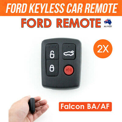 AU12.55 • Buy 2xFor Ford Remote Control BA/BF Falcon Sedan/Wagon Keyless Entry 4 Button Keypad