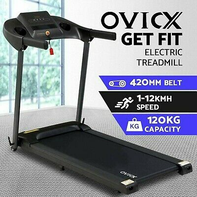 AU589.05 • Buy OVICX Electric Treadmill Home Gym Exercise Machine Fitness Equipment Compact
