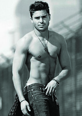 Zac Efron Poster Picture Wall Art Print A3 • 5.99£