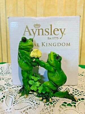Aynsley Frogs Animal Kingdom  Frog Bouquet Boxed • 12.99£
