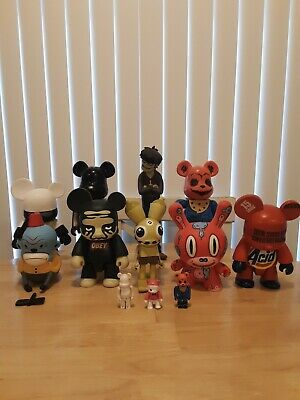 $400 • Buy Lot Of 12 Bearbricks Qees Taxali