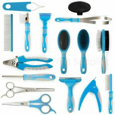 Ancol Dog Grooming Tools Ergo Brush Scissors Clippers File Rake Comb Slicker • 5.65£