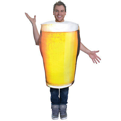 $ CDN30.03 • Buy Adult Pint Of Beer Costume Men Stag Party Oktoberfest Novelty Fancy Dress Outfit
