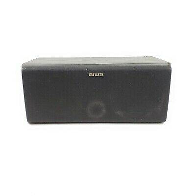 $31.49 • Buy VINTAGE Aiwa Speakers Home Theater SX-C1000 SOLID WOOD GREAT SOUND - Free Ship