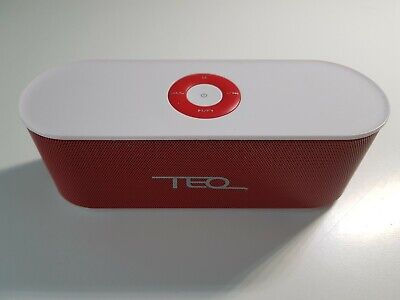 AU10 • Buy Red TEQ Bluetooth Speaker W/ Radio Function And Aux Capacity