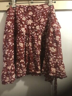 AU21 • Buy Tigerlily Wrap Skirt Preowned Size 8