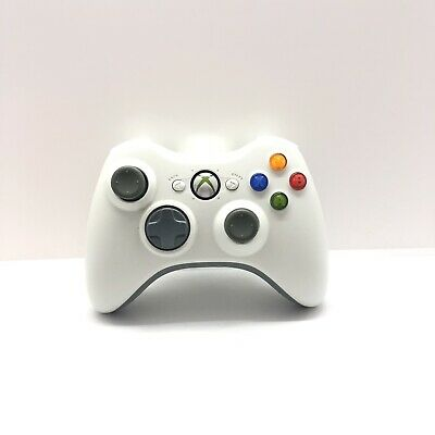 AU43 • Buy White Xbox 360 Controller Genuine Microsoft Tested Free Postage Aus Seller