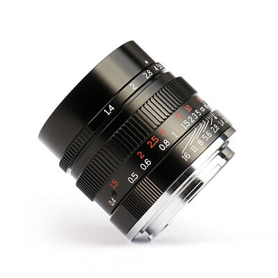 AU284.05 • Buy 7artisans 35mm F1.4 Full Frame Manual Fixed Lens For Sony E-Mount A7 A6500 A6300
