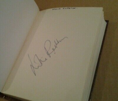 £49.99 • Buy Willie Rushton Signed Autograph Book Page