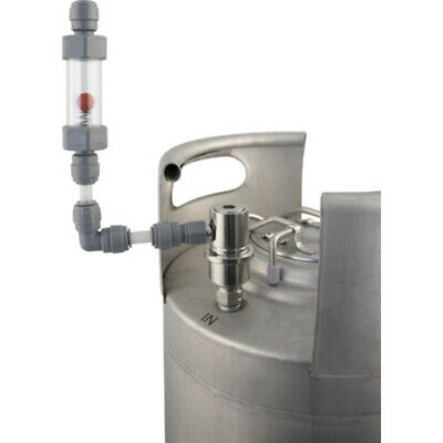 High Quality Duotight Flow Stopper Automatic For Corny Cornelius Keg Filler Kit • 10.89£