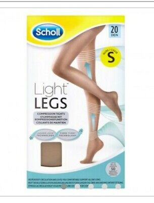 Scholl Light Legs Compression Tights 20 Den, Nude. Multi Buy Deals, Cheap Gifts • 4.99£