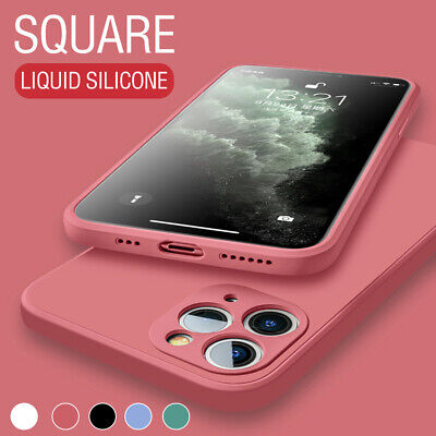 Case For IPhone 11, 12/Pro /Max Soft Liquid Silicone Camera Lens Protector Cover • 4.59£