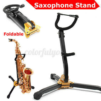 Folding Saxophone Stand Sax Alto Tenor Music Tripod Holder Foldable Musical UK • 9.97£