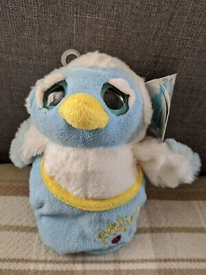Podlings Soft Toy Of Snowdrop The Owl With Tags • 2.99£