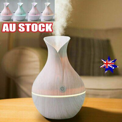 AU16.95 • Buy Aroma Essential Oil Diffuser Air Purifier LED Ultrasonic Aromatherapy Humidifier