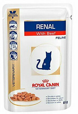 Royal Canin Renal Feline Beef Cat Food, 85 G-12 X 85 G 85 X 85 G  • 21.75£