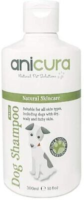 Anicura Natural Dog Shampoo For Skin Allergies, Itchy, Dry & Sensitive 300ml  • 18.69£