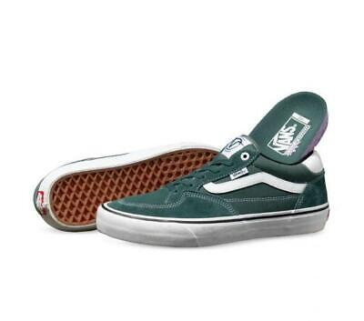 AU129 • Buy Vans Shoes Rowan Pine White Pro USA SIZE Skateboard Sneakers
