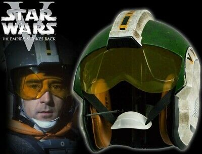 Rare EFX Star Wars WEDGE ANTILLES X Wing PILOT HELMET ESB Prop Replica FULL SIZE • 1,498.09£