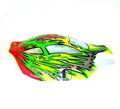 81345 Off Road Nitro RC R/C 1/8 Scale Buggy Body Shell Cover Green HSP • 17.09£
