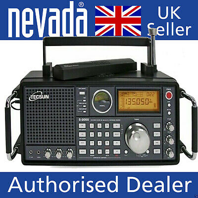 £299.95 • Buy TECSUN S2000 Desktop Receiver With HF And VHF Airband