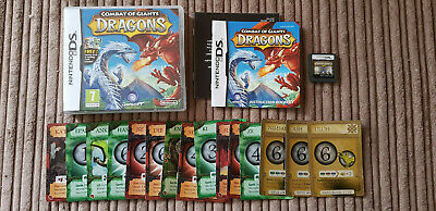 Combat Of Giants Dragons + Trading Cards Starter Deck For Nintendo DS / DSi / XL • 8.99£