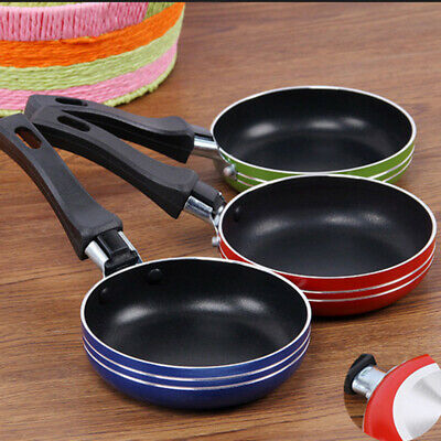 12cm Frying Pan Egg Omelet Pancake Cooking Non Stick Round Frypan Pot Kitchen • 5.52£