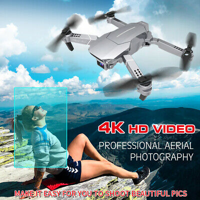 AU56.51 • Buy E98 RC Drone With Camera 4K Drone RC Quadcopter WiFi FPV Drone Headless K2U9
