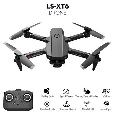 AU34.67 • Buy LS-XT6 RC Drone Mini Drone 6-Axis Gyro 3D Flip Headless Mode Altitude Hold E6U4