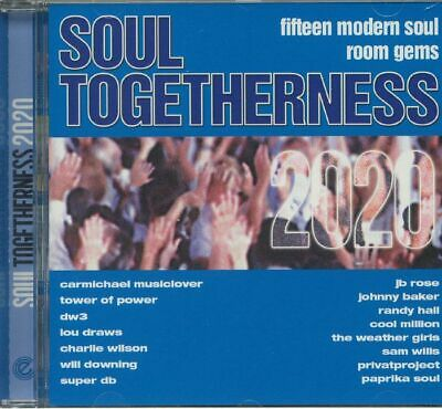 VARIOUS - Soul Togetherness 2020: Fifteen Modern Soul Room Gems - CD • 13.50£