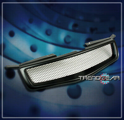 $81.95 • Buy Front Upper Mesh Grille Grill Insert Black Abs For 2004 2005 2006 Maxima Sedan