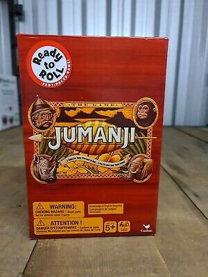 AU21.95 • Buy READY TO ROLL Jumanji The Game - NEW & SEALED