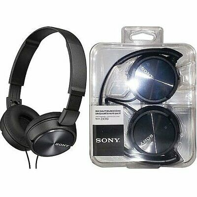 £15.99 • Buy Sony MDRZX310 Series Stereo Headphones Black With Lightweight, Folding Design