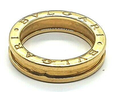 AU750 • Buy BGB - 18ct Gold Ladies Bvlgari Designer Ring B Zero Size O/55