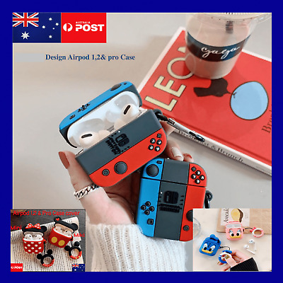 AU12.99 • Buy For Airpod 1/2/Pro Creative Design Shockproof Soft Silicone Cover Case Nin