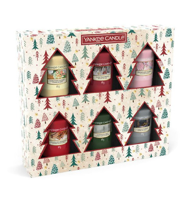 Yankee Candle Christmas 6 Votive Gift Set Stocking Filler NEW • 14.95£