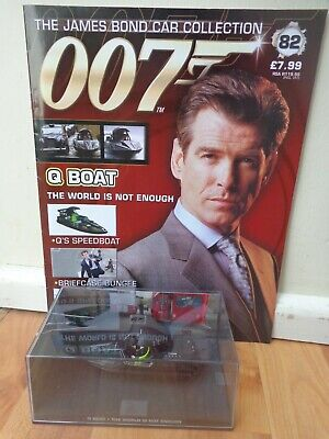 $ CDN26.28 • Buy 1/43 James Bond 007 Car Collection - Q Boat The World Is Not Enough #82