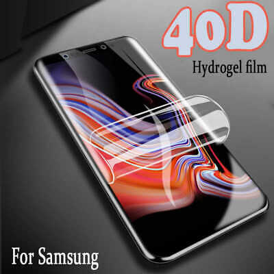 For SAMSUNG Galaxy S10 S20 S8 S9 Plus 5G TPU Film Screen Protector COVER • 0.99£