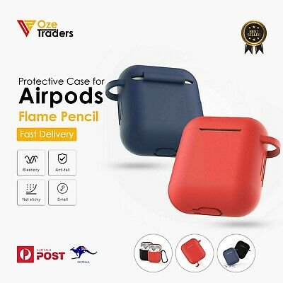 AU3.99 • Buy Shockproof Case Silicone Cover Gel Skin Holder For Apple Airpods Airpod 1&2