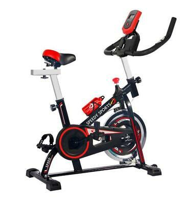 Spin Bike 10KG Spinning Flywheel Fitness Training Machine Home Cardio Exercise • 127£