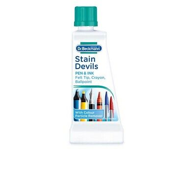 Dr Beckmann Stain Devils Removes Pen & Ink Very Effective 50ml • 2.85£