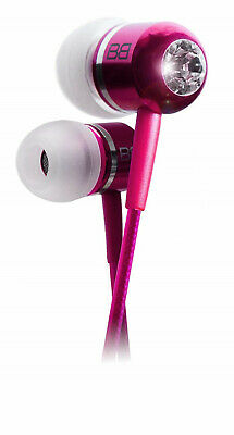 $ CDN22.28 • Buy BassBuds Classic Collection RRP £40 Pink Gift Box Swarovski Crystal Elements New