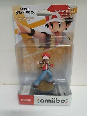 AU40 • Buy Nintendo Amiibo Super Smash Bros. Series Figure - Pokemon Trainer For NS Switch