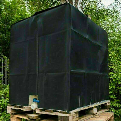 Cover Protective Hood For Rain Water Tank 1000 Liters IBC Container Foil Cover. • 15.99£