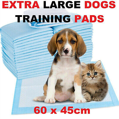 £14.95 • Buy Heavy Duty Large Puppy Pet Training Wee Pee Toilet Pads Pad Floor Mats Cat Dog