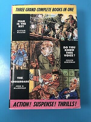£8 • Buy Fear Is The Key Do You Know This Voice The Crossroads Odhams Mans Hb Book 1962