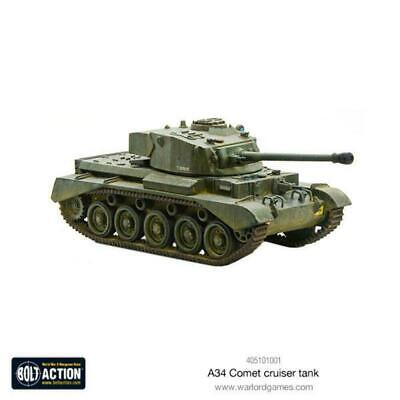 £29 • Buy Bolt Action - A34 Comet Heavy Tank - Warlord Games NEW