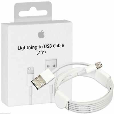 AU10 • Buy 2 M Top Quality Lighting Cable Charger For Genuine Apple IPhone 5/6/7/8/X/11