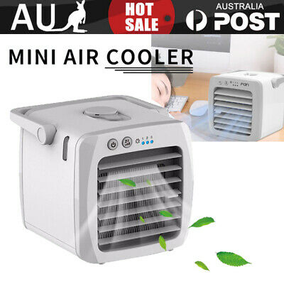 AU39.95 • Buy Portable Air Conditioner Personal Cooler Cooling Fan Humidifier Air Purifier
